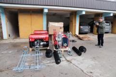 Nabavljena oprema u projektu aglomeracije