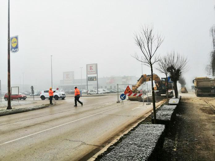 Moguće otežano prometovanje zbog radova u Lapovačkoj ulici